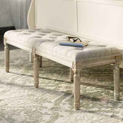 Letellier Wood Bedroom Bench - Wayfair