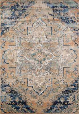 "AM-03 NAVY Rug - 7'10"" x 9'10"" - Sera Rugs"