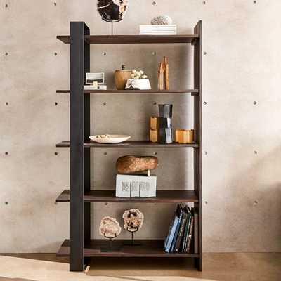 Logan Industrial Bookshelf - Tall - West Elm