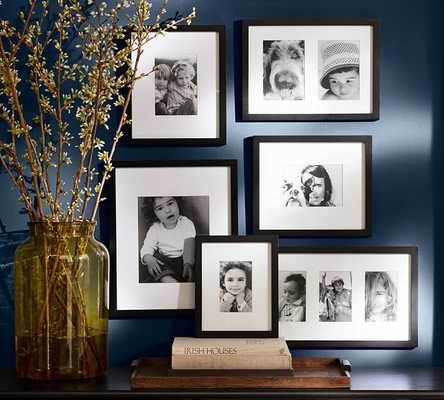 Gallery in a Box, Black Frames - Set of 6 - Pottery Barn