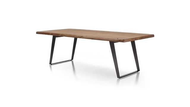 """Yukon 92"""" Dining Table - Crate and Barrel"""