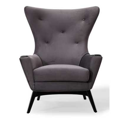 Charlie Morgan Velvet Chair - Maren Home