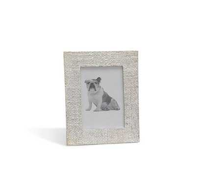LARGE SILVER PICTURE FRAME - Mitchell Gold + Bob Williams