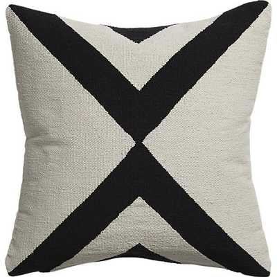 "23"" xbase pillow with feather-down insert - Domino"