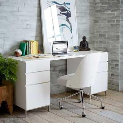 Lacquer Storage Desk Set - 2 Box Files - West Elm