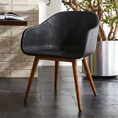 Venice Studio Black Task-Office Chair - CB2