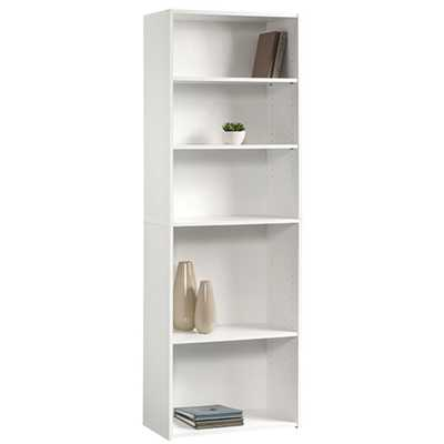 Beginnings Soft White Open Bookcase - Home Depot