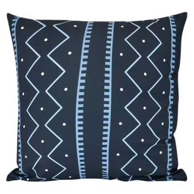 Mudcloth Geometric Print Pillow - 16x16 - Target