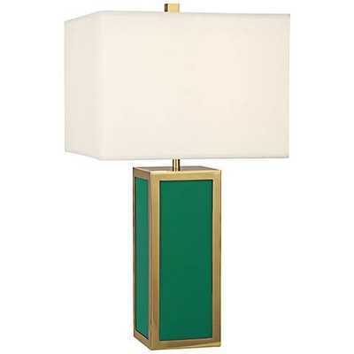 Jonathan Adler Barcelona Emerald Green Table Lamp - Lamps Plus