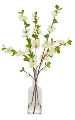 """25"""" Quince in Vase, Handcrafted, Faux - One Kings Lane"""