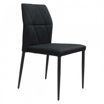 Revolution Dining Chair Black, Set of 2 - Zuri Studios