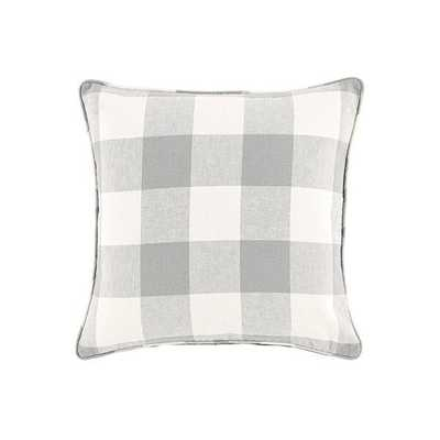 Ballard Designs Buffalo Check Pillow Gray - Ballard Designs