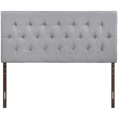 CLIQUE QUEEN HEADBOARD IN SKY GRAY - Modway Furniture