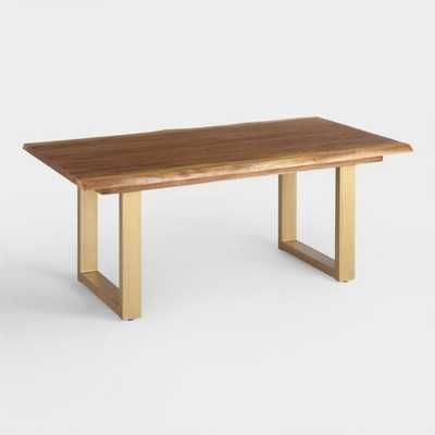 Live Edge Wood Sloan Dining Table - World Market/Cost Plus