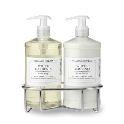 Williams Sonoma White Gardenia Soap & Lotion, Classic 3-Piece Set - Williams Sonoma