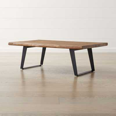 Yukon Coffee Table - Natural - Crate and Barrel