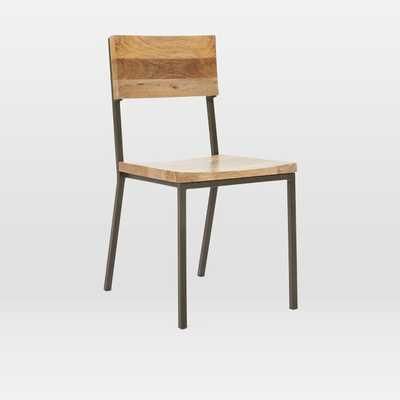 Rustic Dining Chair, Raw Mango - West Elm