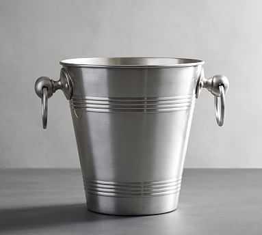 Antique Silver Ice Bucket - Pottery Barn