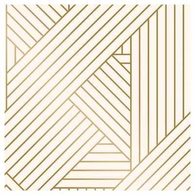 Devine Color Ribbon Peel and Stick Wallpaper - Lightning and Karat - Target