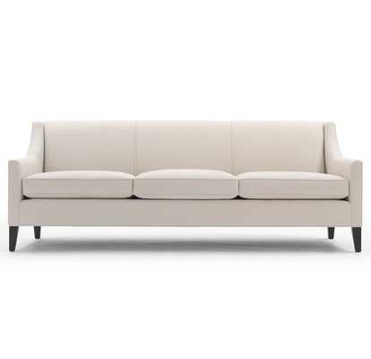 "Cara Sofa, 89""L, Phipps Stone Upholstery - Mitchell Gold + Bob Williams"
