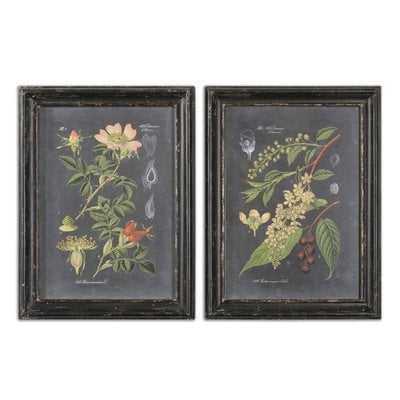 Midnight Botanicals - set of 2 - Hudsonhill Foundry