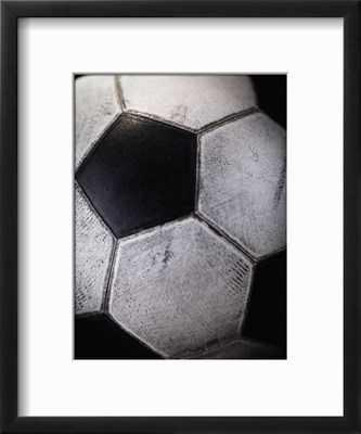 SOCCER BALL art print - art.com