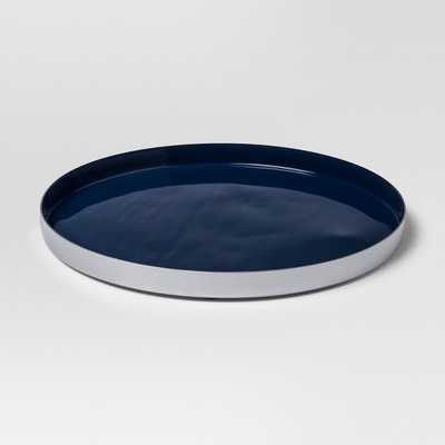 Enamel Tray Large - Navy/Silver - Project 62 - Target