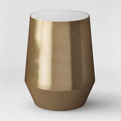 Mawr Metal Accent Table White Marble/Gold - Project 62 - Target