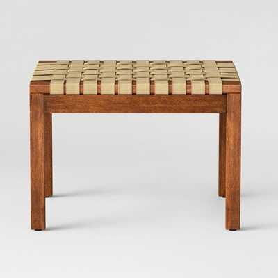 Catalonia Woven Ottoman Natural - Project 62 - Target