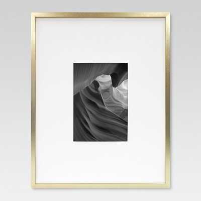 Metal Frame - Brass - Matted Photo - Project 62 - Target