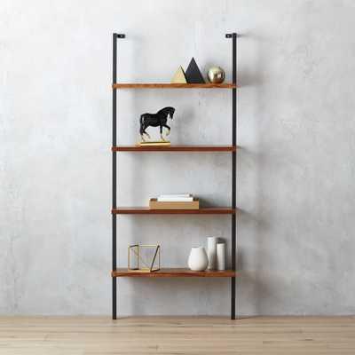 "helix 70"" acacia bookcase - CB2"