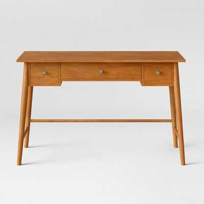 Amherst Mid Century Modern Writing Desk Brown - Project 62 - Target
