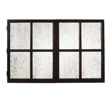 MIRROR CABINET TV COVERS - Small - Pottery Barn