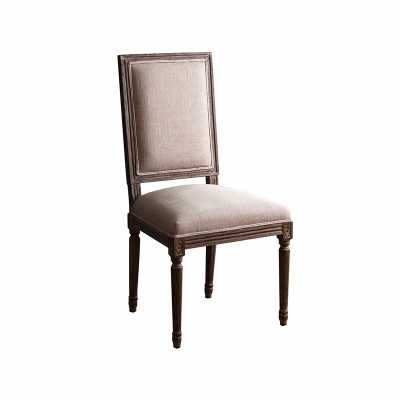 French Vintage Reactangle Back Dining Chair - Abbyson Living