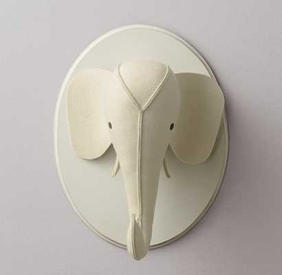 WOOL FELT ELEPHANT HEAD - RH Baby & Child
