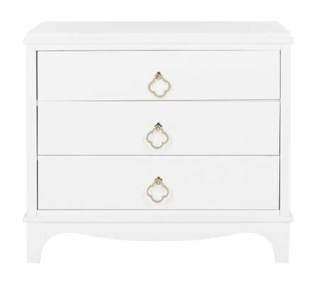 Hannon 3 Drawer Contemporary Nightstand - Arlo Home