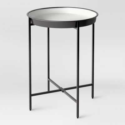 Pradet Tray Accent Table Black/White - Project 62™ - Target