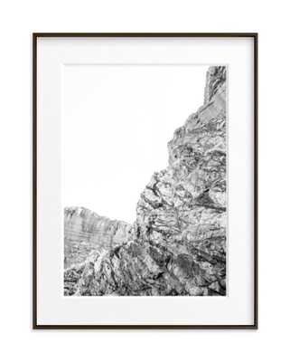 Printed Canyon 1- black frame matted - Minted