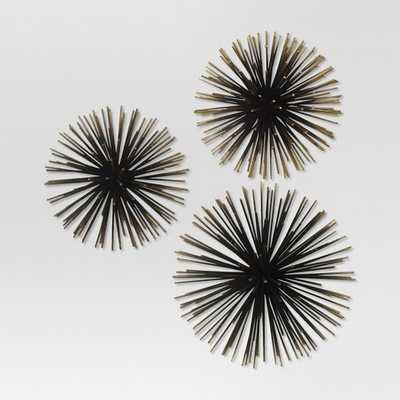 Sea Urchin Wall Décor Gold - Project 62™ - Target