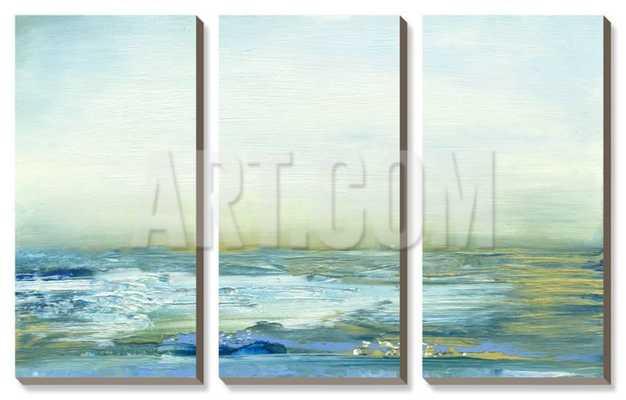 "SOJOURN IV - 38"" x 24"" Canvas Art Set - art.com"