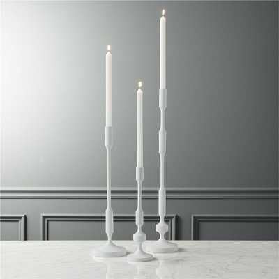 wadsworth taper candle holders set of 3 - CB2