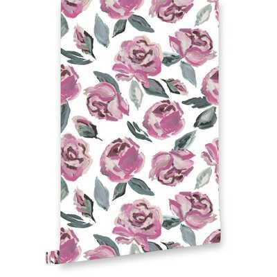 Garden Rose Wallpaper - Caitlin Wilson