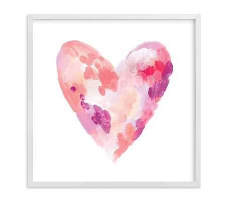 Abstract Heart Wall Art By Minted® - Pottery Barn Kids