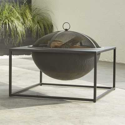 Carswell Large Firepit - Crate and Barrel