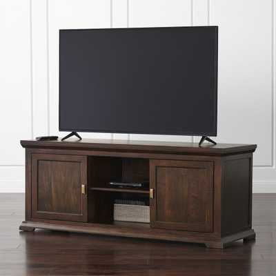 """Crowne 62"""" Media Console - Crate and Barrel"""