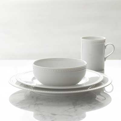 Staccato 4-Piece Place Setting - Crate and Barrel
