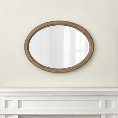 Colette Driftwood Wall Mirror - Crate and Barrel