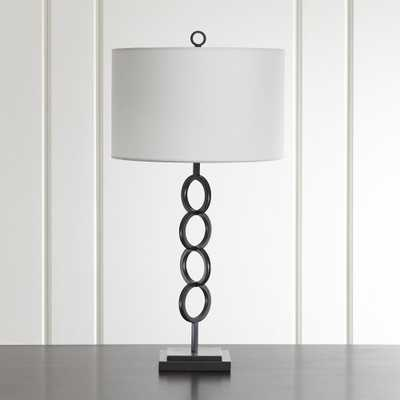 Axiom Black Table Lamp - Crate and Barrel