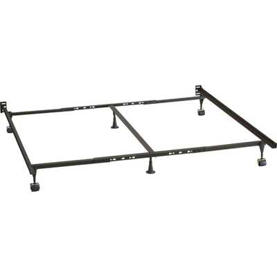 Queen-King-California King Bed Frame - Crate and Barrel