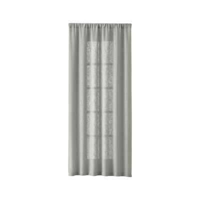 "Lindstrom 48""x96"" Grey Curtain Panel - Crate and Barrel"